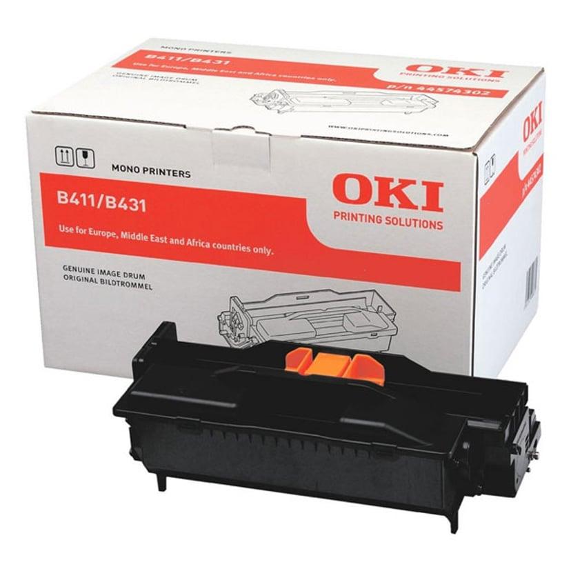 OKI Värikasetti Musta 12k - MB491