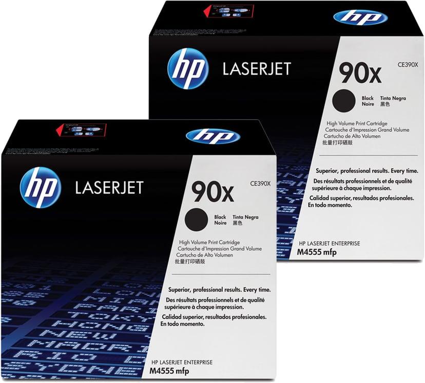 HP Toner Zwart 90X 24K - CE390XD