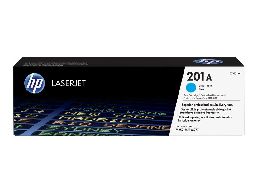 HP Toner Cyan 201A 1.4K - CF401A  #ATTACH