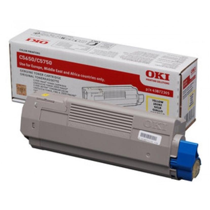 OKI Toner Geel 2k - C5650/5750