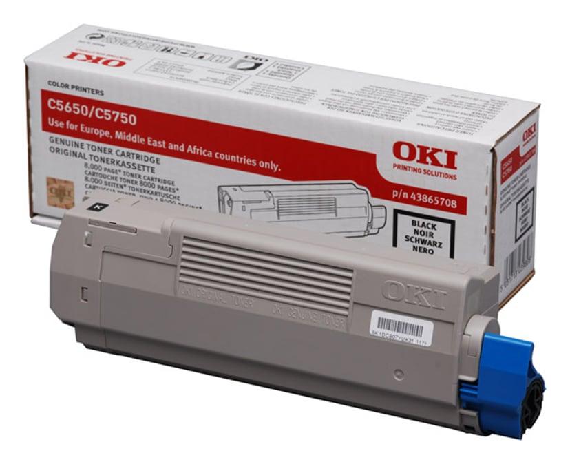 OKI Toner Zwart 8k - C5650/5750