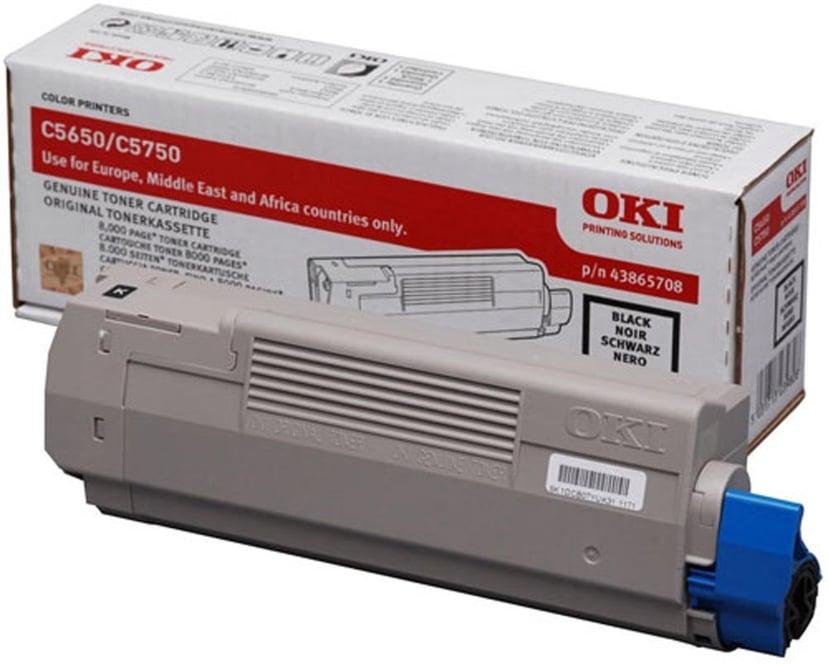 OKI Toner Svart 8k - C5650/5750