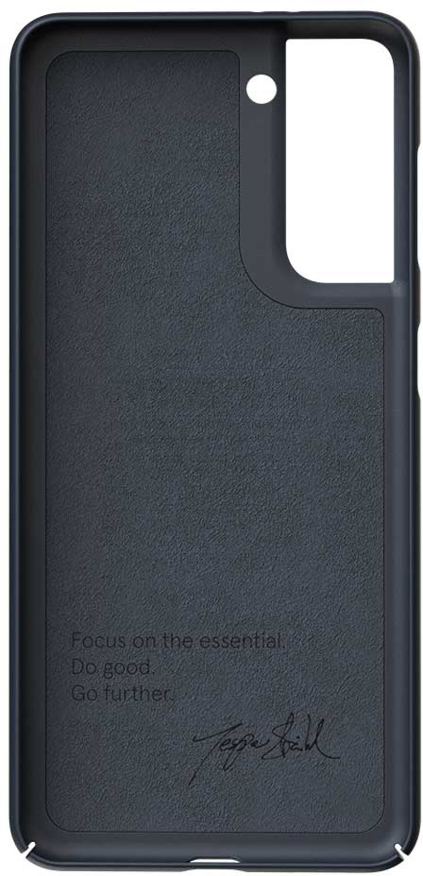 Nudient Thin Precise Case V3 Blå Samsung Galaxy S21
