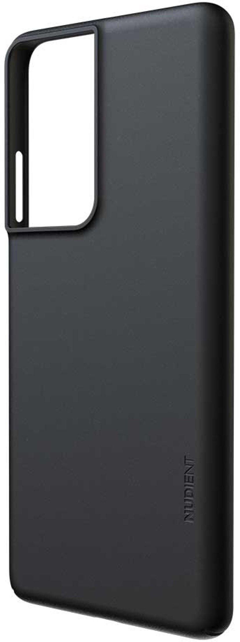 Nudient Thin Precise Case V3 Samsung Galaxy S21 Ultra Musta