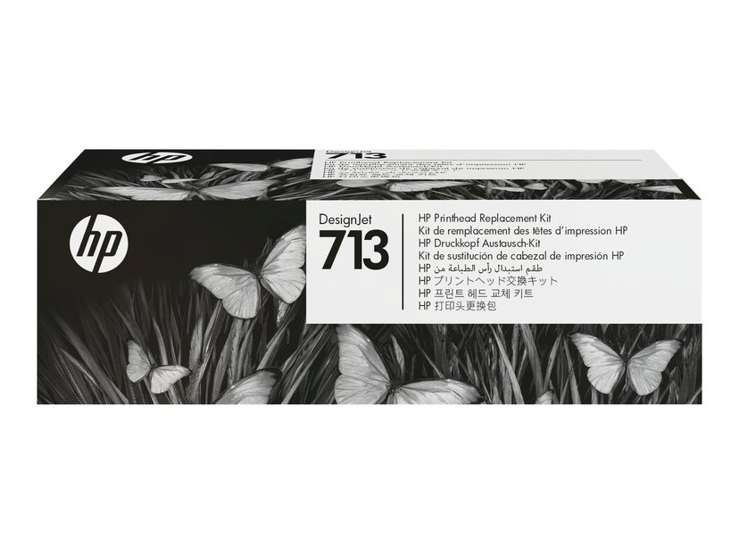 HP Skrivarhuvud Kit 713 (BK/C/M/Y)