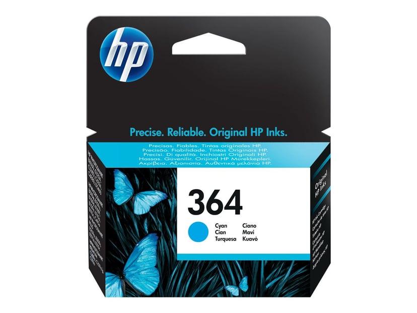 HP Blæk Cyan No.364 PS D5460