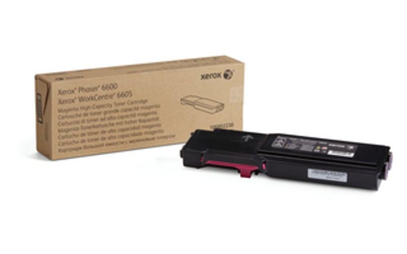 Xerox Toner Magenta 6k - Phaser 6600//WC6605