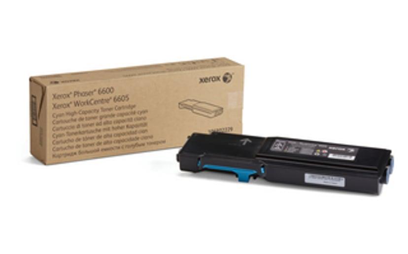 Xerox Toner Cyaan 6k - Phaser 6600//WC6605