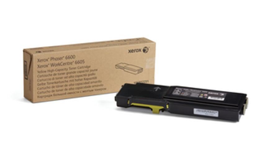 Xerox Toner Geel 6k - Phaser 6600//Wc6605