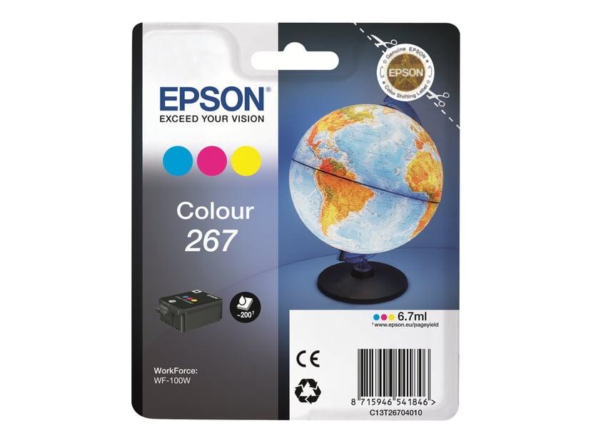 Epson Inkt Kleur 267 - WF-100W #Köp
