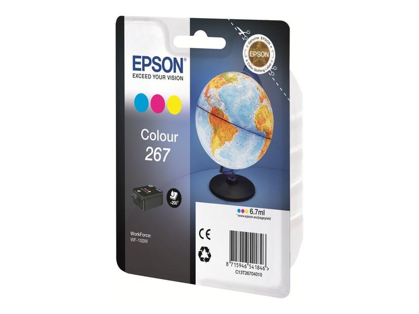 Epson Blekk Farge 267 - WF-100W #Köp