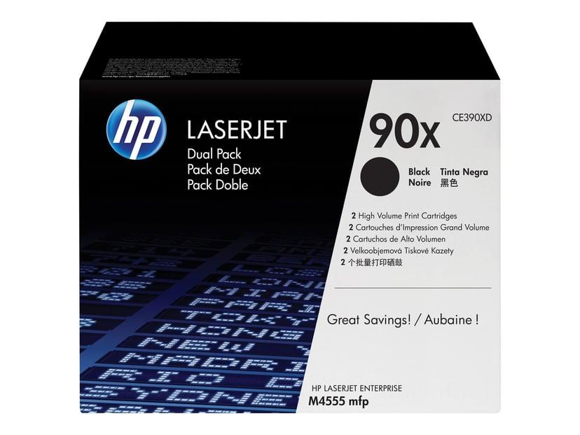 HP Toner Svart 90X 24K - CE390XD