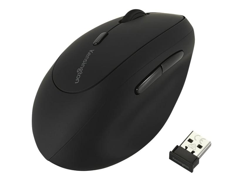 Kensington Pro Fit Ergo Wireless Mouse 1,600dpi Mus Trådlös Svart