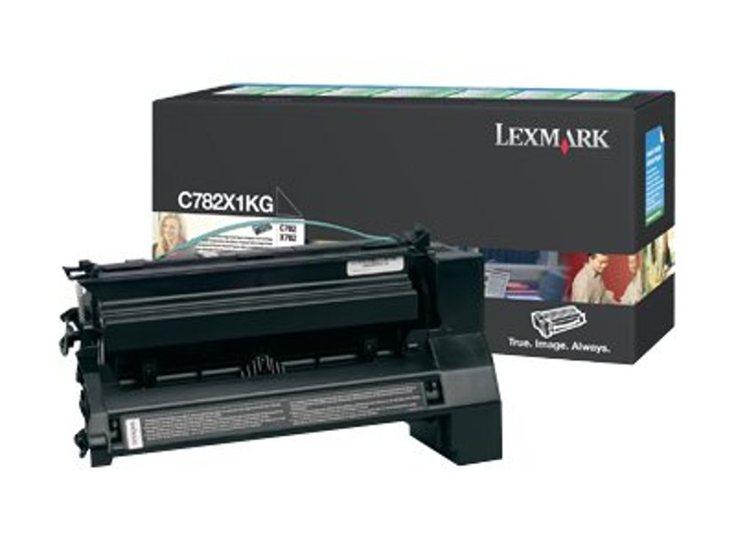 Lexmark Toner Svart 15k - C782