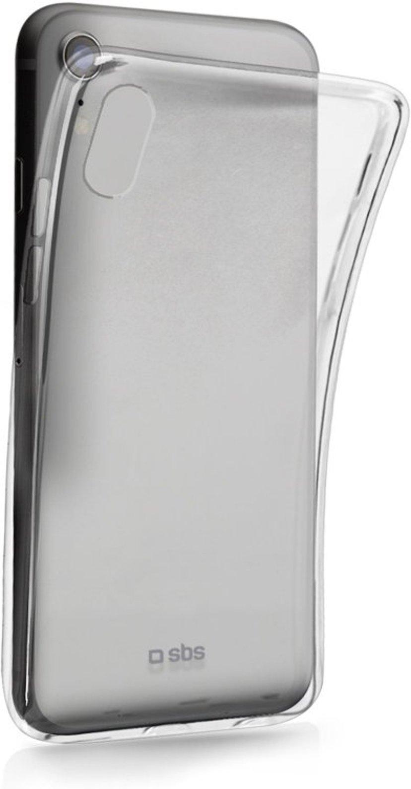 sbs Skinny Cover iPhone Xr Läpinäkyvä