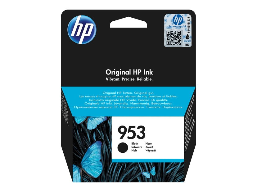 HP Muste Musta 953 1K - OfficeJet Pro 8710/8720/8730/8740