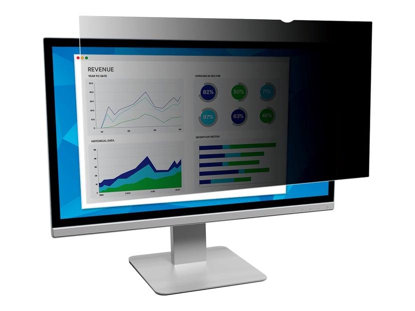 "3M Databeskyttelsesfilter til 23,8"" widescreen-skærm 23,8"" bred 16:9"