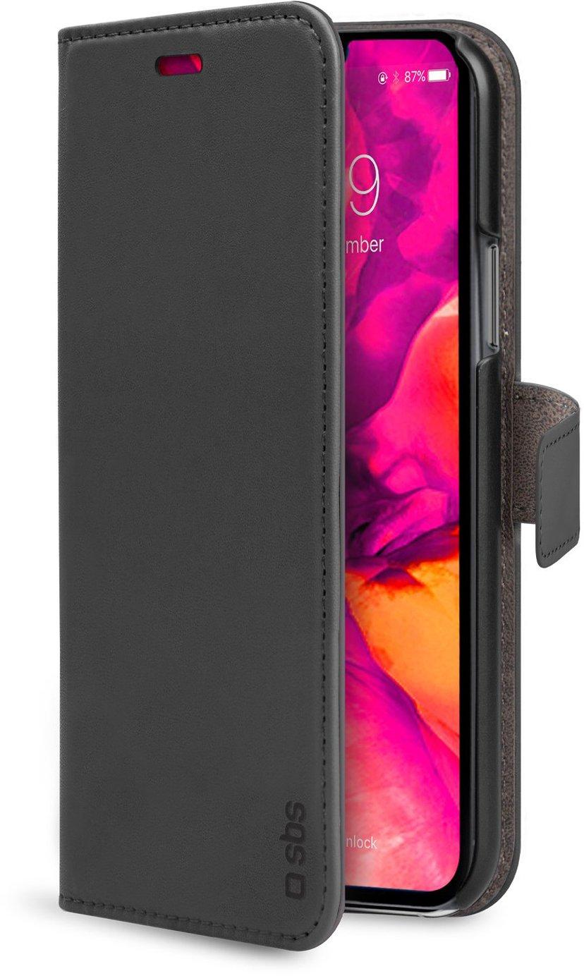 sbs PU Wallet iPhone 12, iPhone 12 Pro Svart
