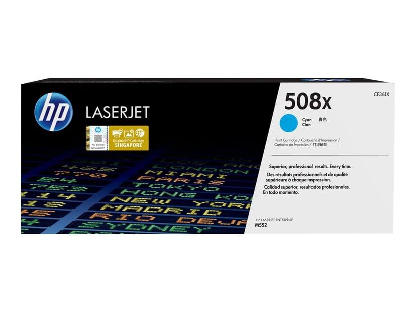 HP Toner Cyan 508X 9.5K - CF361X #KÖP