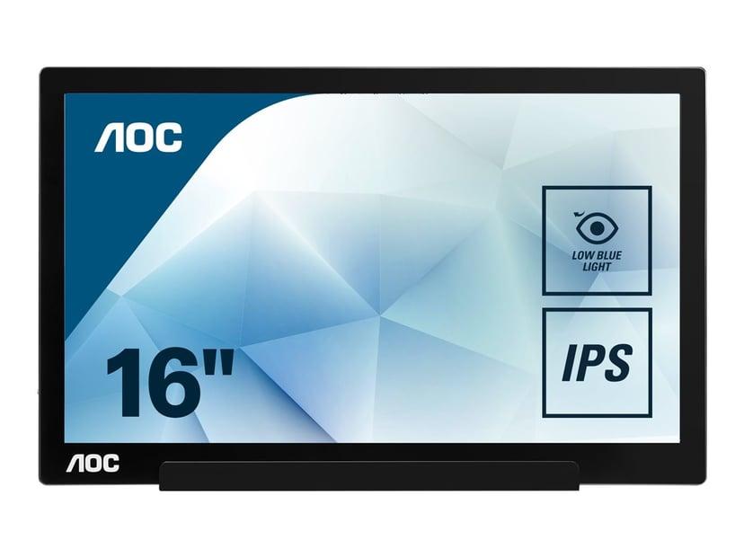"""AOC I1601FWUX 16"""" 1920 x 1080 16:9"""