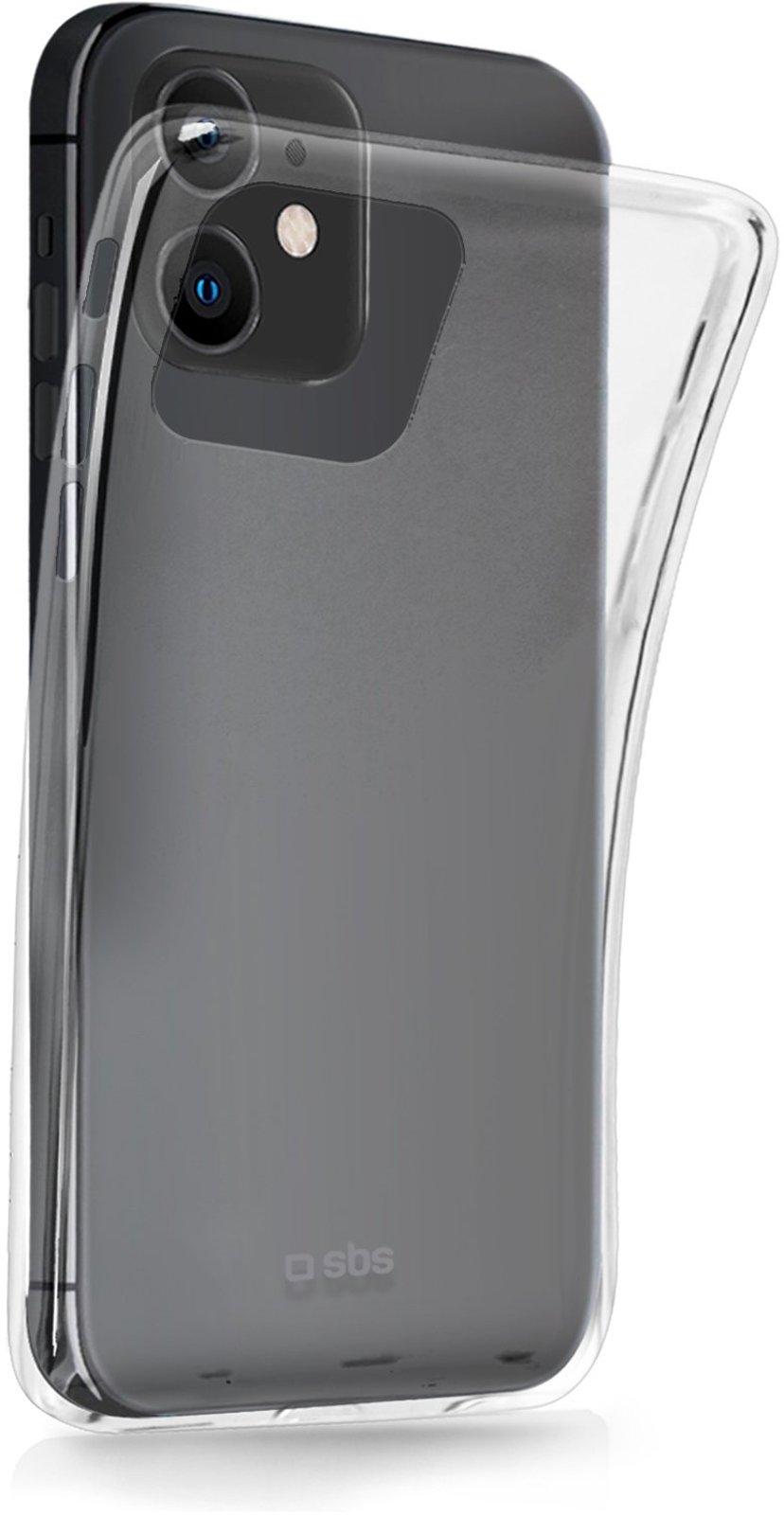 sbs Skinny Cover iPhone 12, iPhone 12 Pro Gjennomsiktig