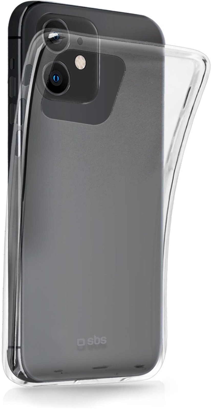 sbs Skinny Cover iPhone 12, iPhone 12 Pro Transparent