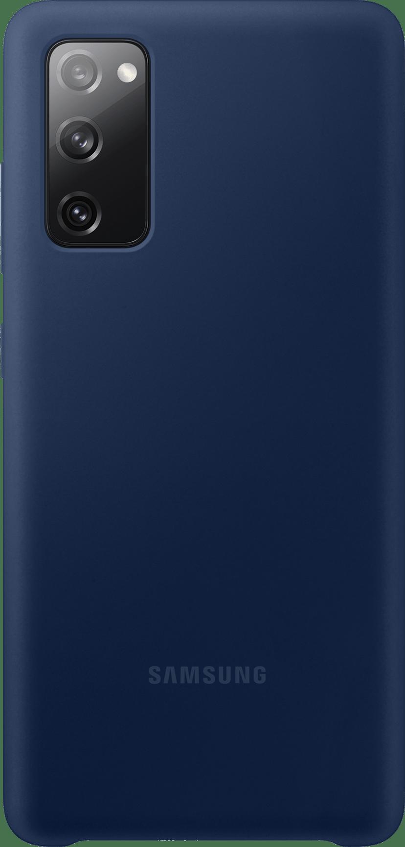 Samsung Silicone Cover Samsung Galaxy S20 FE Marin