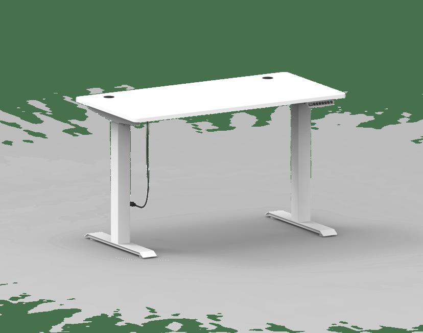 Nordic Office FlexiDesk Home Höjdjusterbart Bord 120X60cm Vit