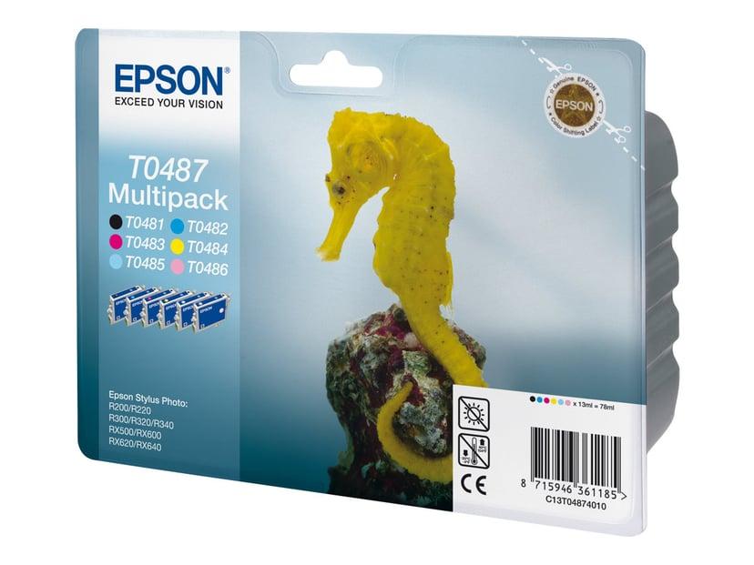 Epson Blekk Multipack T048 - R300