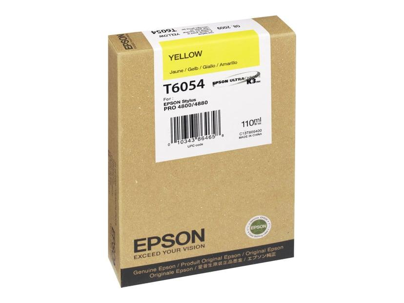 Epson Blæk Gul - STYLUS PRO 4880/4800 110ml
