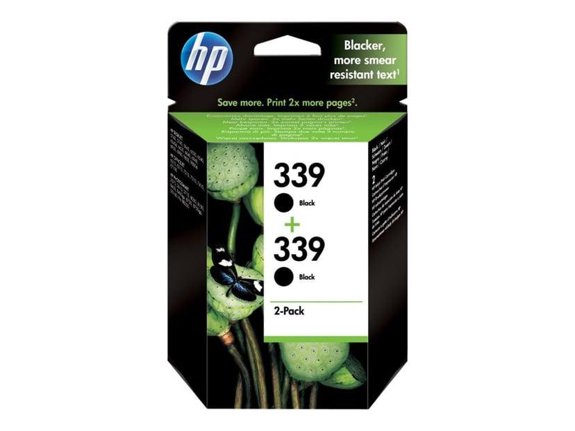 HP Bläck Svart No.339 21ml 2-PACK