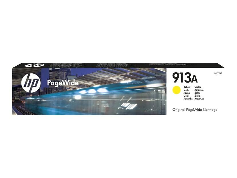 HP Bläck Gul 913A 3k - PageWide 377/452/477/552 #Köp