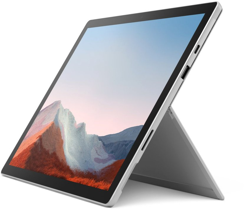 """Microsoft Surface Pro 7+ för företag 4G 12.3"""" Core i5 8GB 128GB Platina"""