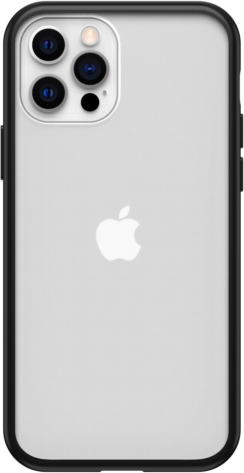 Otterbox OtterBox React Series iPhone 12, iPhone 12 Pro Svart krystall