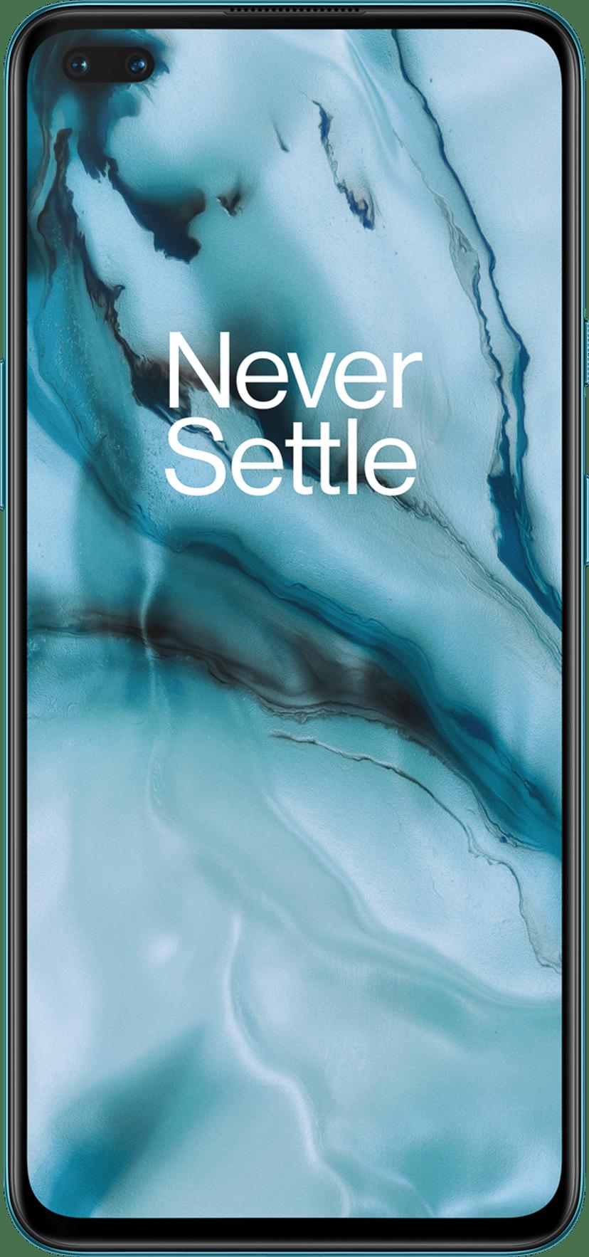 OnePlus Nord 128GB Dual-SIM Blå marmor