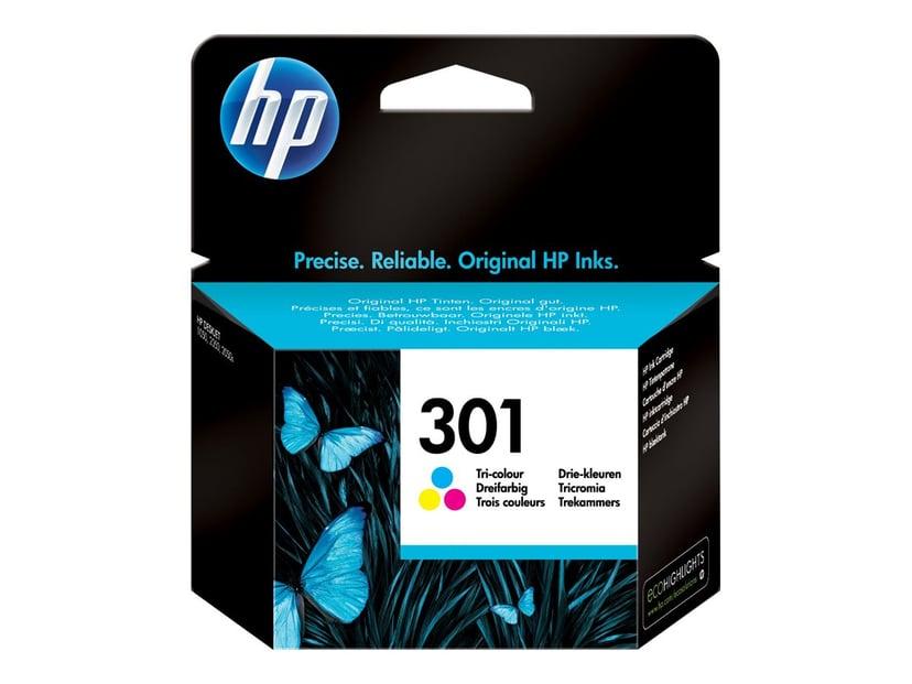 HP Blekk Farge No.301 - DJ 1000