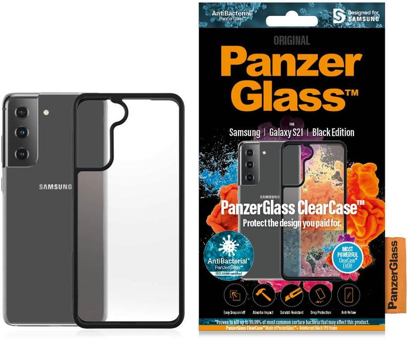 Panzerglass Clearcase BlackFrame Samsung Galaxy S21 Sort