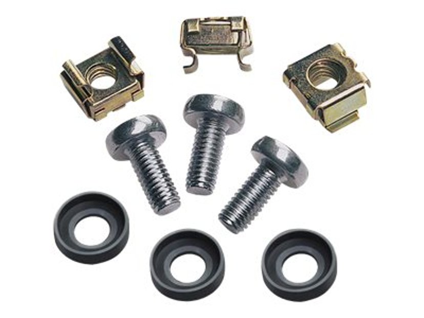 Intellinet Screws And Cage Nuts 50-Pack Silver