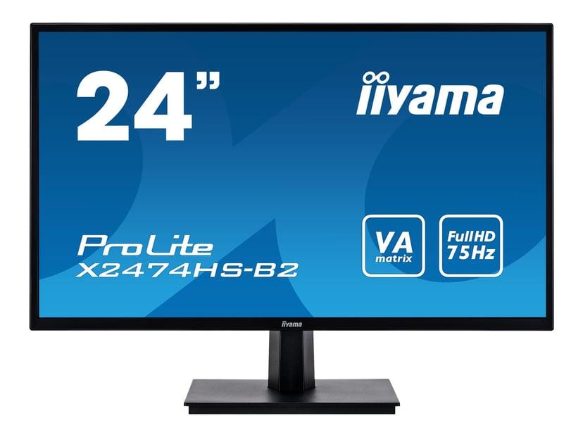 """Iiyama ProLite X2474HS-B2 24"""" 1920 x 1080 16:9"""