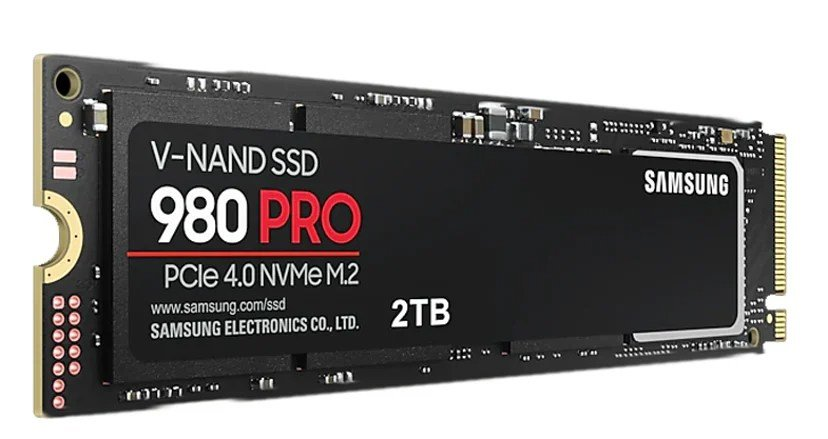 Samsung 980 PRO 2048GB PCI Express 4.0 x4 (NVMe) M.2 2280