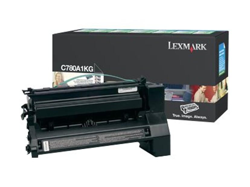 Lexmark Toner Svart 6k PREBATE - C782
