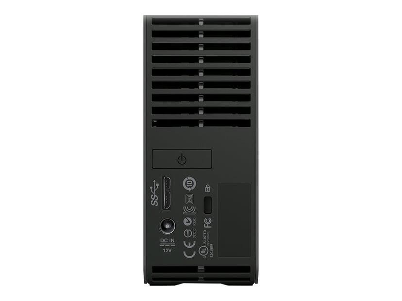 WD Elements Desktop 6TB Svart