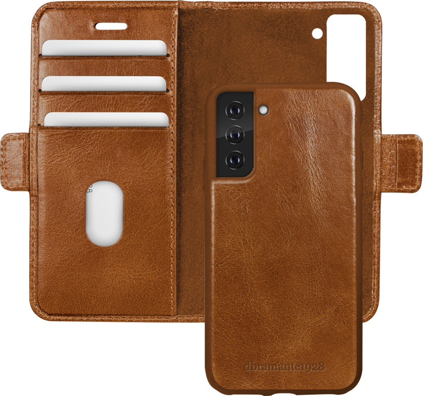 dbramante1928 Lynge Flipomslag Til Mobiltelefon Samsung Galaxy S21+ Sand