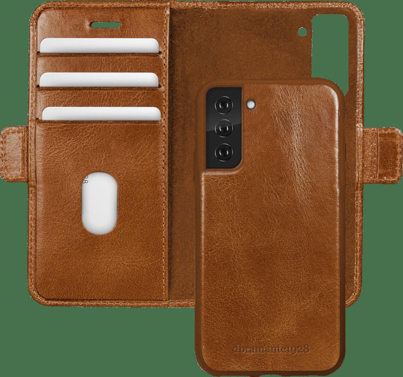 dbramante1928 Lynge Vikbart Fodral För Mobiltelefon Samsung Galaxy S21+ Barkbrun