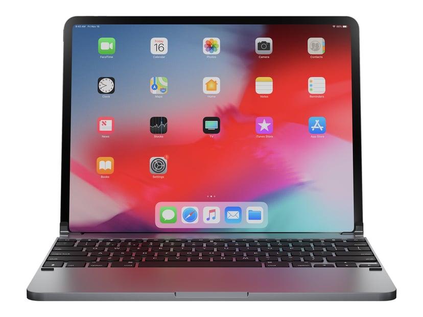 "Brydge Pro Aluminium Keyboard iPad Pro 11"" Nordic Layout Space Grey"