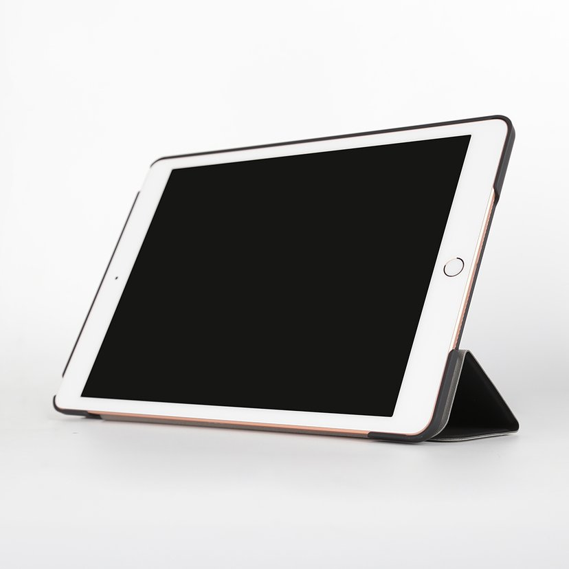 Pomologic Book Case iPad 7th gen (2019), iPad 8th gen (2020), iPad 9th gen (2021) Svart