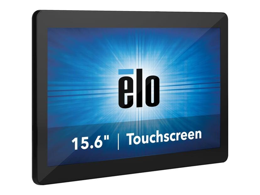 """Elo I-serie 2.0 15.6"""" Touch FHD Cel 4/128gb SSD Win 10 Svart"""