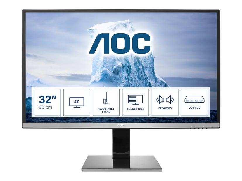 "AOC U3277PWQU 31.5"" 3840 x 2160 16:9"