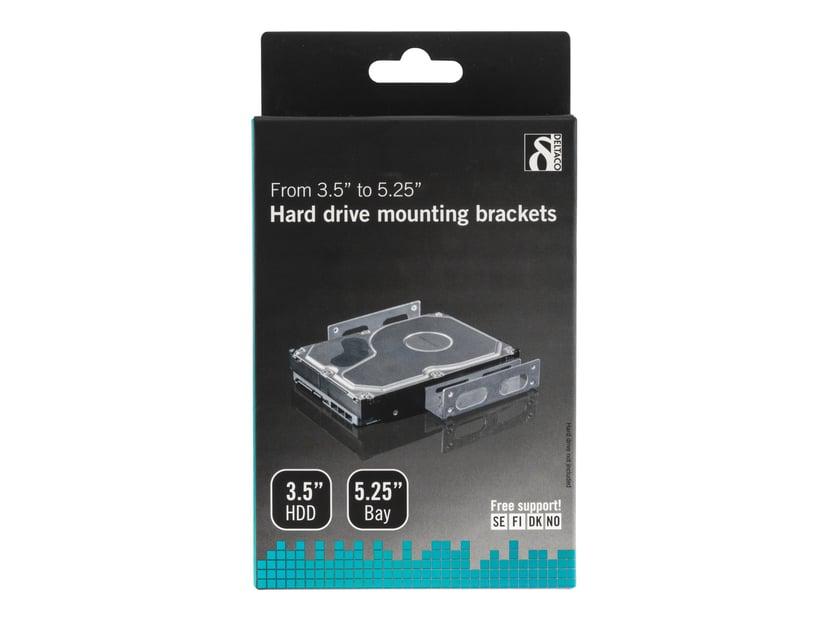 """Deltaco Monteringssats HDD 3.5"""" Till 5.25"""""""