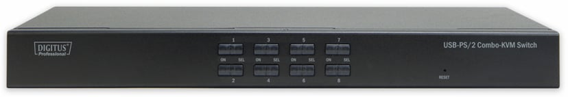 Digitus 8-portars USB/PS2 KVM-switch
